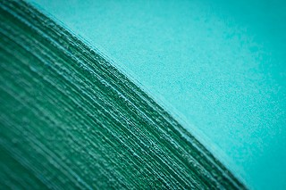 FRANKLIN TILL GF SMITH WOLRDS FAVOURITE COLOUR MARRS GREEN PAPER MAKING